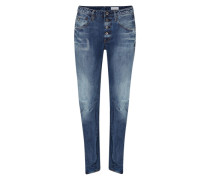 Boyfriend Denim 'New Arc' blau