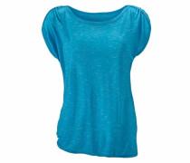 Kurzarmshirt blau