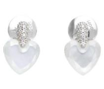 Ohrringe 'Heart' silber