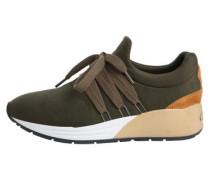 Alltags-Sneaker sand / khaki / dunkelorange / weiß