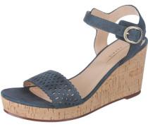 Sandaletten 'Gessie' blau