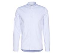 Hemd 'special mini collar' hellblau