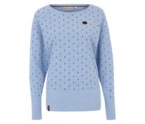 Longsleeve Shirt mit Muster hellblau