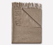 Woll-Schal 'Frame' beige