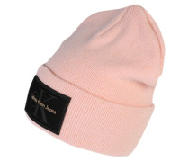 Strickmütze 'Issue' rosa