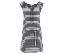 Strandkleid graphit / weiß