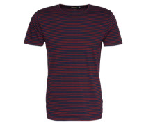 'T-Shirt' blau / rot