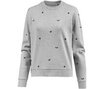 Sweatshirt Damen graumeliert
