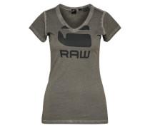 T-Shirt 'Suphe' dunkelgrau