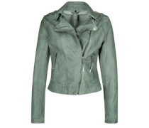 Lederjacke Blow Away mint