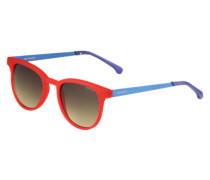 Sonnenbrille 'Francis' blau / rot