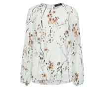 florale Bluse creme / mischfarben