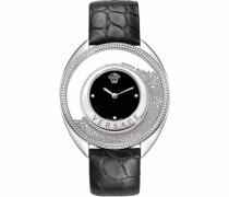 Schweizer Uhr 'Destiny Var070017' silbergrau / schwarz