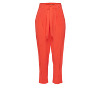Bundfaltenhose 'valric' rot / orange