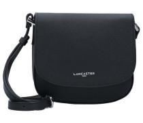 Adele Mini Bag Umhängetasche Leder 20 cm schwarz