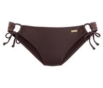 Bikini-Hose dunkelbraun