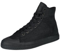 Bayton High Denim Sneakers schwarz