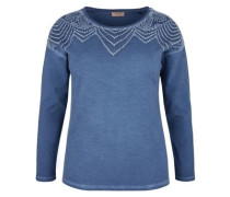 ? Sweater in Cold Pigment Dye taubenblau