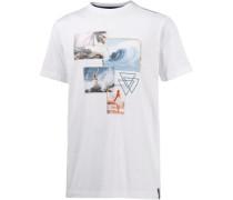 Printshirt weiß