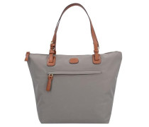 X-Bag Handtasche 25 cm graumeliert