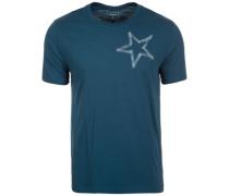 Reflective Tape Star T-Shirt Herren grün