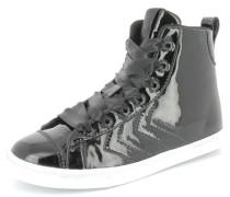 Sneaker 'strada Patent' schwarz