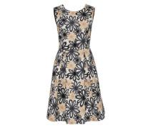 Jacquard-Kleid mit Rückenausschnitt mischfarben