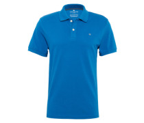 Poloshirt 'nos basic polo' blau