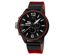 Chronograph 'alenica Uc-01' rot / schwarz