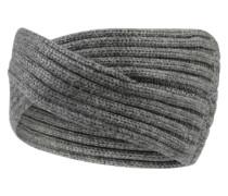 Gestricktes Stirnband graumeliert