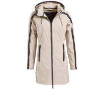 Mantel 'livani' beige / schwarz