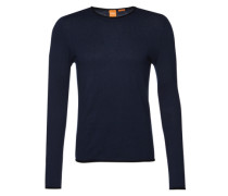 Pullover aus Feinstrick 'Kamero' blau