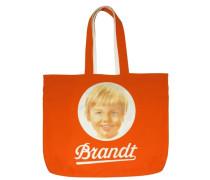 Shopper Tasche Brandt Zwieback orange