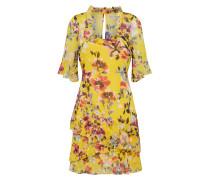 Kleid zitrone / mischfarben