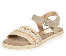 Sandalen beige / braun / taupe / weiß
