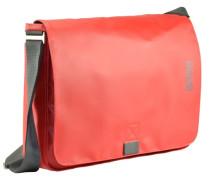 Punch 49 Messenger Schultertasche 38 cm Laptopfach rot