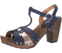 Sandaletten blau / navy / rosegold