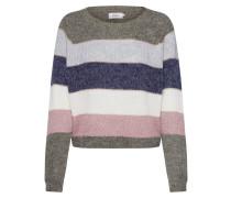 Pullover 'onlSTRIPE L/S Pullover Knt' mischfarben