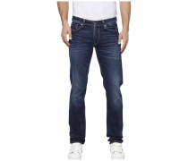 Straight-Jeans 'Ryan' blue denim