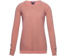 Pullover »Gianna Texture Round-Nk Swtr« orange / rot
