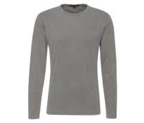 Langarmshirt im Used-Look 'Yoshi' grau