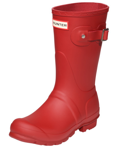 Hunter Damen Gummistiefel rot