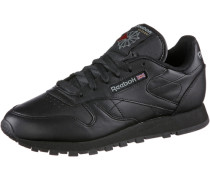 Classic Leather Sneaker schwarz