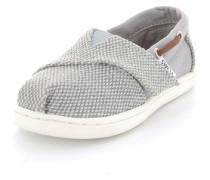 Mädchen Sneaker Bimini Espadrille Textil grau