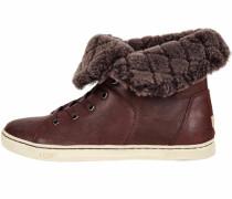 Sneaker 'Croft Luxe Quilt' braun