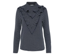 Sweatshirt 'nmlife' navy / weiß