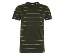 Shirt 'yd str aw ss' dunkelgrün