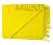 Woll-Schal 'Frame' gelb
