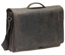 'Richmond Messenger' BriefBag XL Leder 41 cm Laptopfach braun