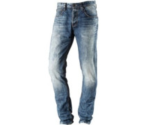 Elvis Slim Fit Jeans Herren blau